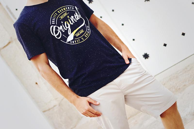 Camiseta hombre original de algodón